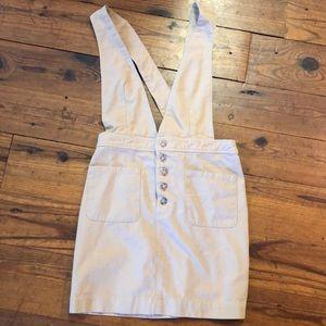 Mini overall skirt